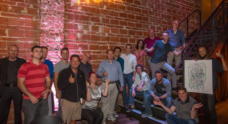 shaken and stirred at downtown St. Pete historic venue NOVA 535 for the weekly Entrepreneur Social Club