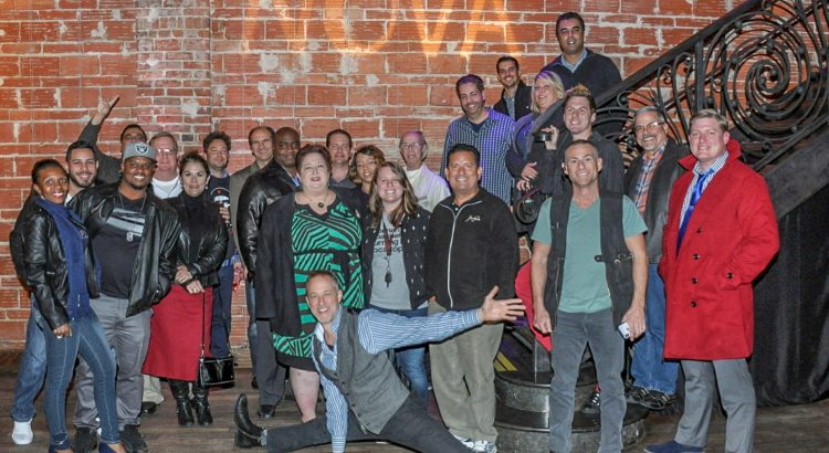 Happy EntrepreNEWerial New Year from the Entrepreneur Social Club, gathered here at historic DTSP venue NOVA 535, on Thursday January 4, 2018.