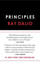 BOOK - Ray Dalio Principles Life and Work Book Cover