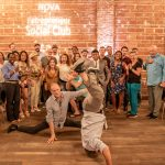 Leap Year Handstands with the Entrepreneur Social Club at historic downtown St. Pete venue NOVA 535
